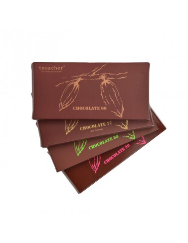 Dark Chocolate Bars 100 g / 3.75 oz