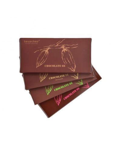 Tablettes de chocolat noir 100 g /...