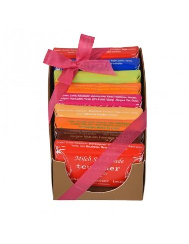 Chocolate Bar Box 9x25g
