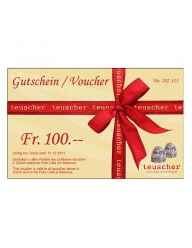 Chèque cadeau CHF100.--