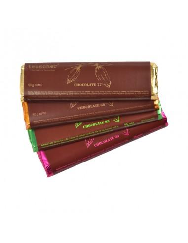 Tablette de chocolat noir 50 g