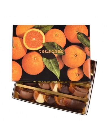 Boîte tranches / quartiers d'Orange...