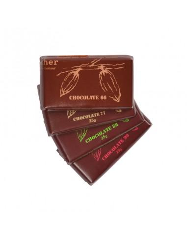 Dunkle Schokoladentafel 25 g