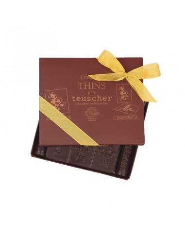 Hauchdünne Schokolade 66%