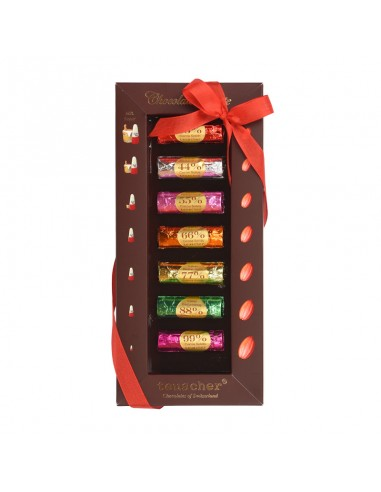 Schokolade Palette Box 33% - 99%