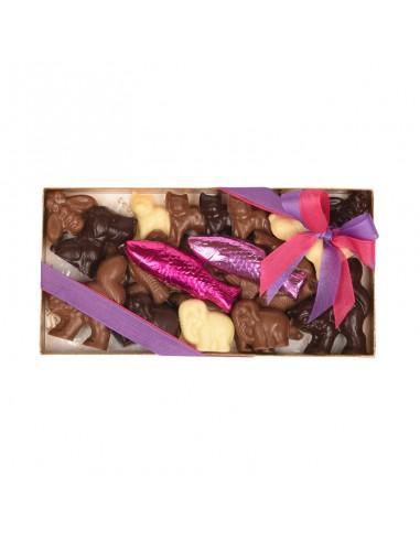 Teuschers zoo du chocolat 300 g
