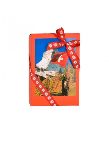 Boîte drapeau suisse 250 g
