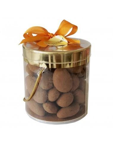 Mandeln mit Schokolade