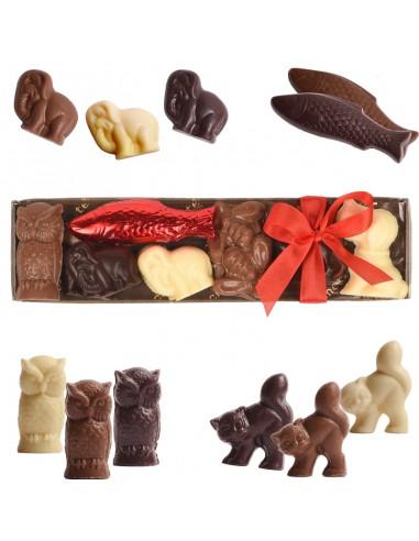 Chocolate animals Box