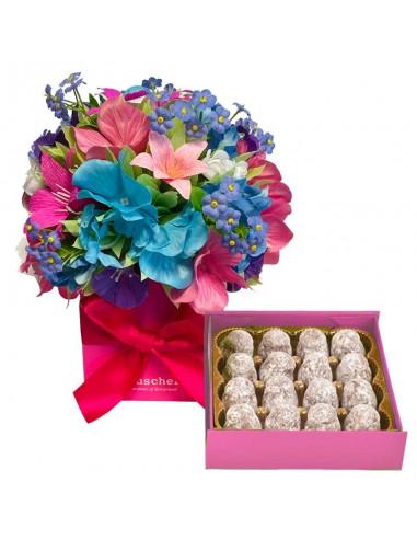 Boîte à fleurs Hortensia