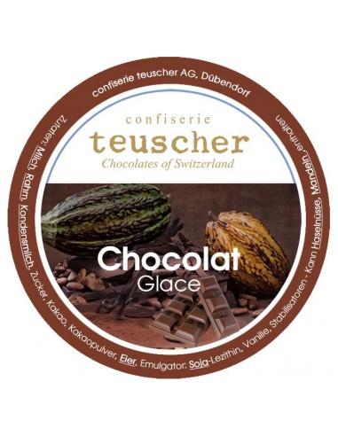 glace au chocolat tartufo