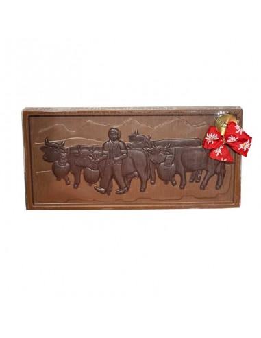 Tablette de chocolat alpin