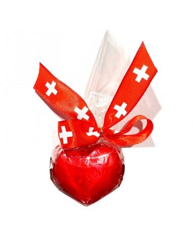 Gianduja Heart Switzerland 1 pc