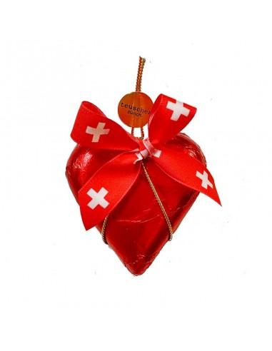 Milk Chocolate Heart Switzerland 1 pc